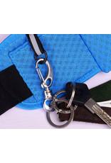 Hardloopband met vakjes - heuptasje voor het sporten
