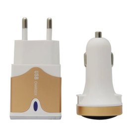 3-in-1 USB charger for on-the-go