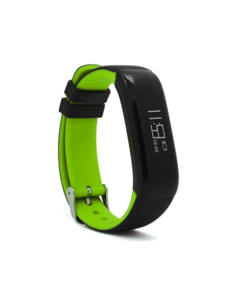 Activity tracker with heart rate monitor and pedometer