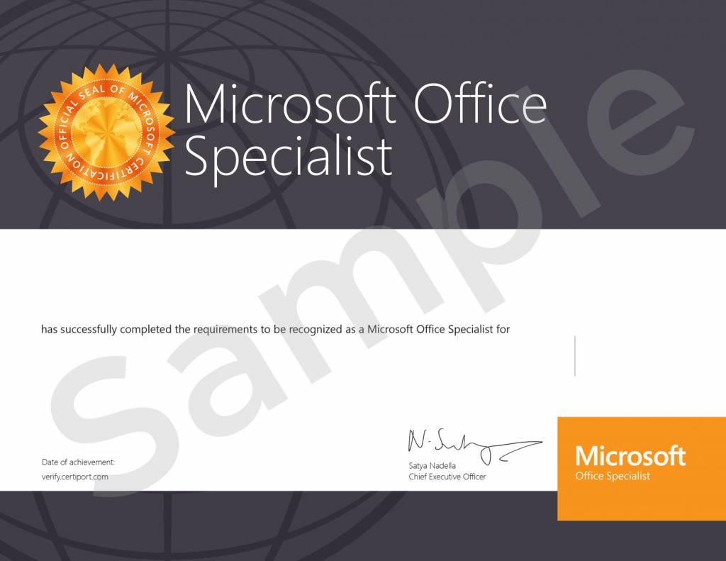 Microsoft  Microsoft Office Excel Examen