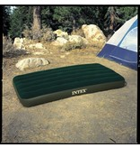 Intex Luchtbed Twin Downy Airbed Kit Ruim Eenpersoons (Incl. Batterijpomp)