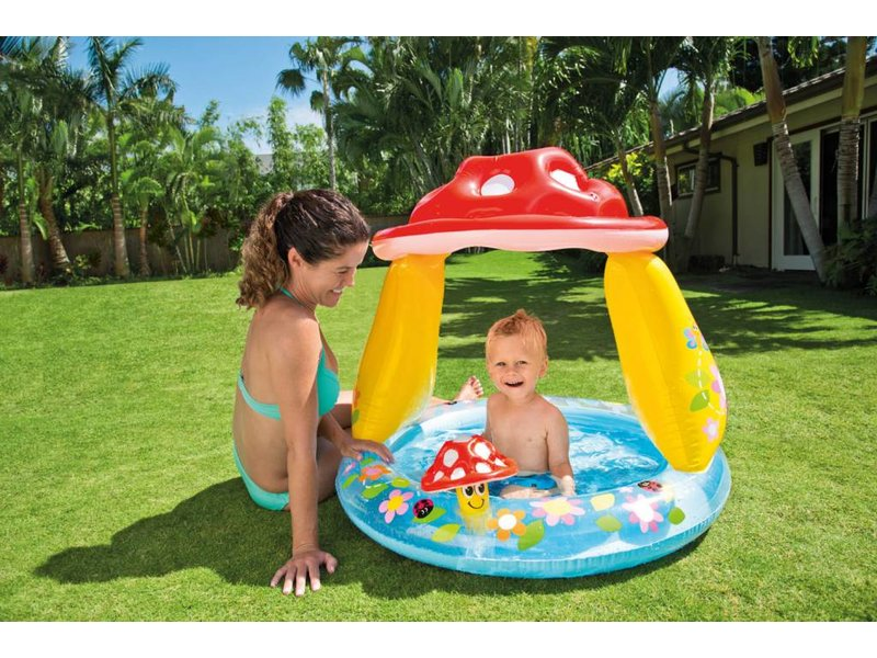 Intex Opblaasbaar Speelzwembad Paddenstoel (1-3 Jaar)