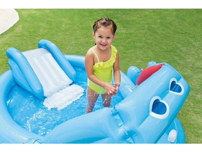 Intex Opblaasbaar Speelzwembad Nijlpaard (3+ Jaar)