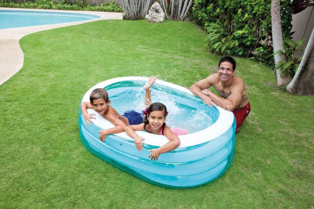 opblaasbaar zwembad ovaal 3 jaar