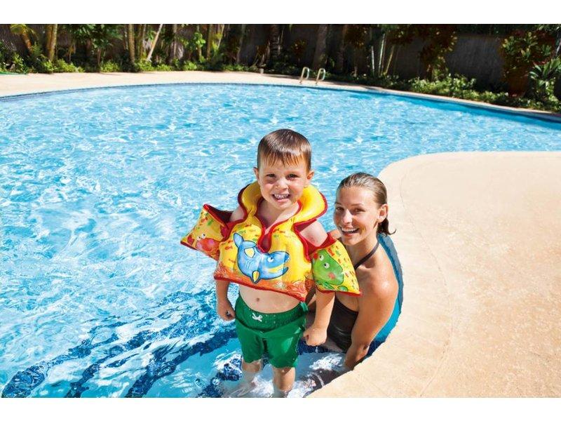 Intex Zwembad Kinderzwemvest Dierenprint