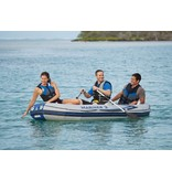 Intex Opblaasboot Marinier 3 Set Driepersoons