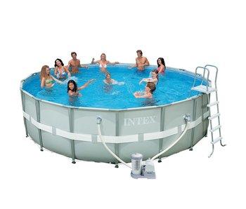 Ultra frame zwembaden for Piscina estructural intex