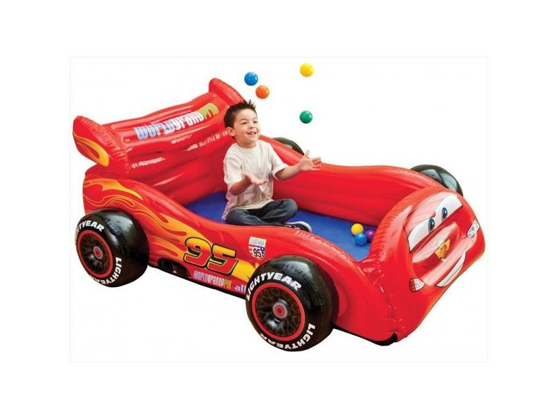 Intex Opblaasbaar Auto Cars incl. Ballen
