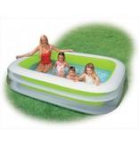 Intex Opblaasbaar Zwembad Familie Rechthoek