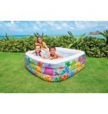Intex Opblaasbaar Zwembad Vierkant
