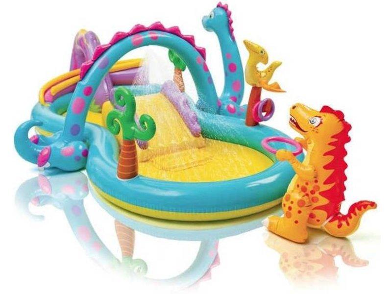 Intex Opblaasbaar Speelzwembad Dinoland (3+ Jaar)