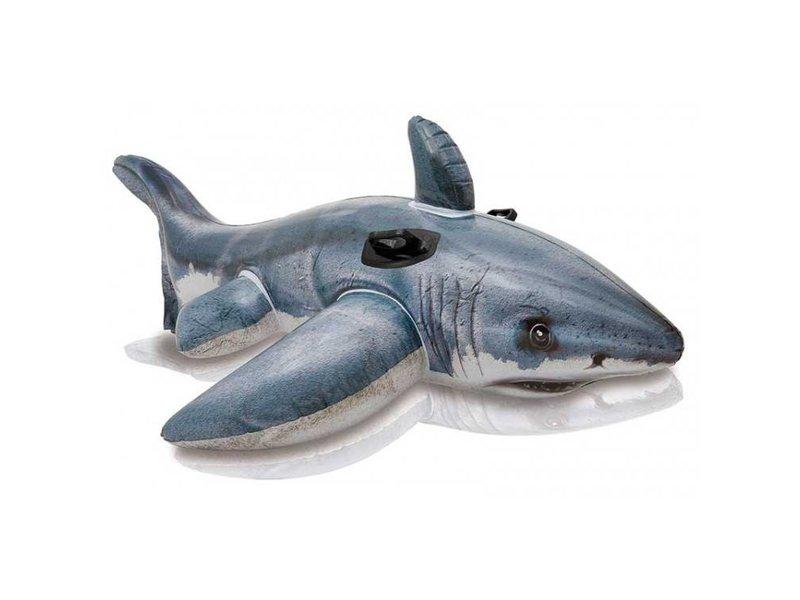 Intex Opblaasbaar Drijf Witte Haai