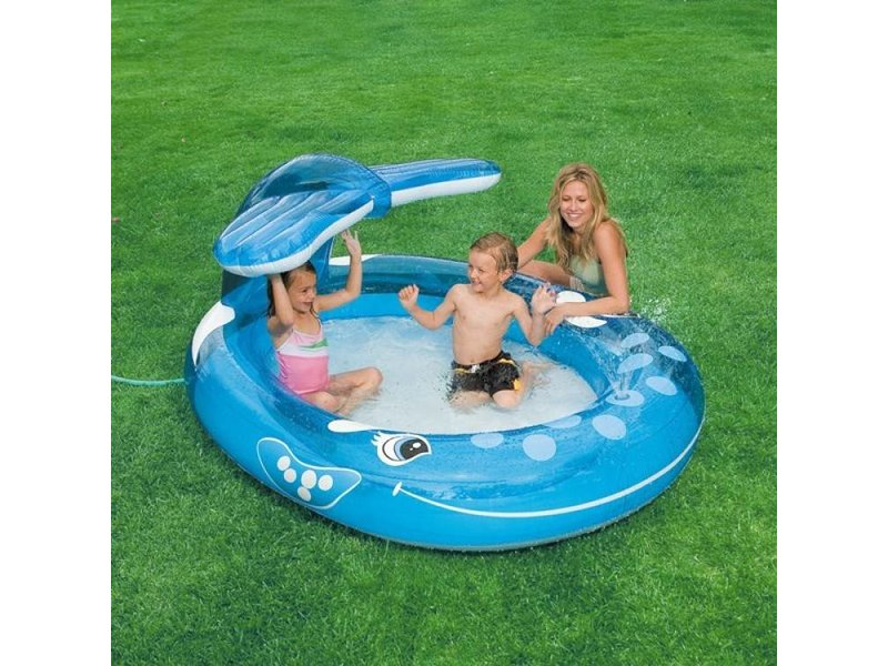 Intex Opblaasbaar Speelzwembad Walvis (3+ Jaar)