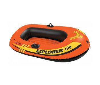 Intex Opblaasboot Explorer Pro 100 Eenpersoons
