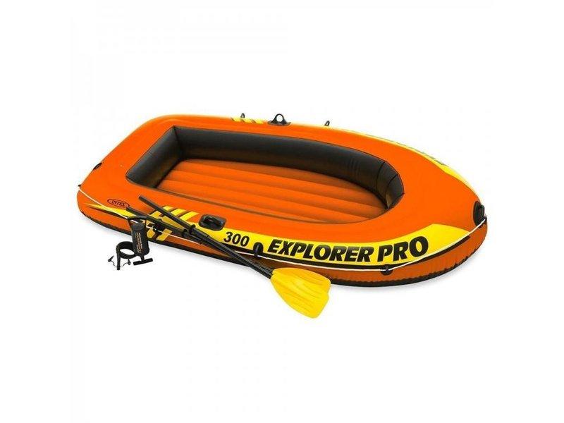 Intex Opblaasbaar Explorer Pro 300 Set - Met Peddels En Pomp