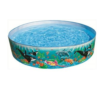 Intex Opzetzwembad Met Vissenprint