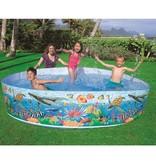 Intex Opzetzwembad met Onderwaterprint Groot