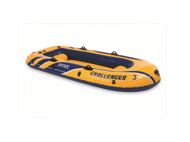 Intex Opblaasboot Challenger 3 Driepersoons (Incl. Peddel en Pomp)