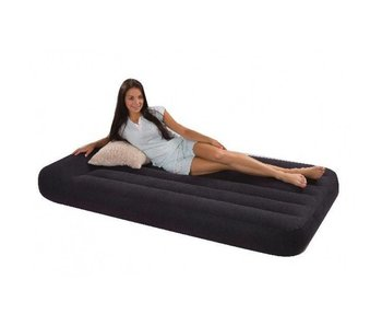 Intex Luchtbed Twin Pillow Rest Classic Eenpersoons
