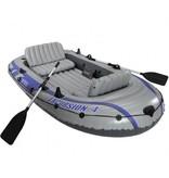 Intex Opblaasboot Excursion 4 Set Vierpersoons (Incl. Peddels en Pomp)