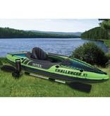 Intex Opblaasboot Challenger K1 Kajak Eenpersoons (Incl. Peddels en Pomp)