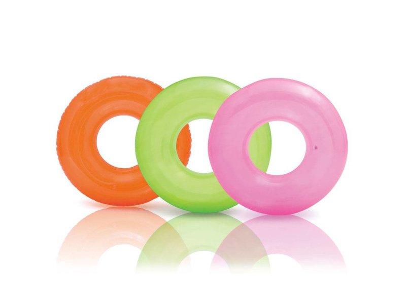 Intex Opblaasbaar Zwemband Transparant 76 cm
