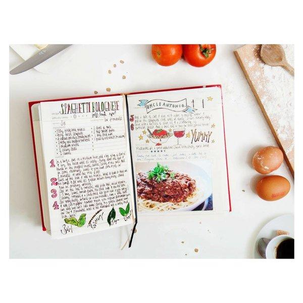 SUCK UK Cook Book Red