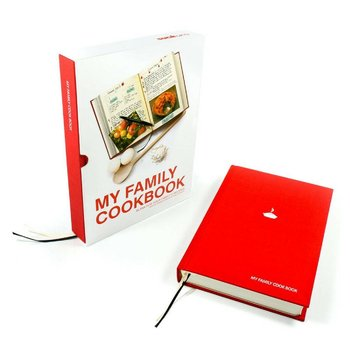 SUCK UK Cook Book Red
