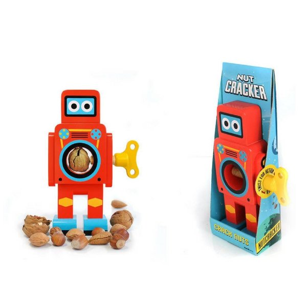 SUCK UK Robot Nut Cracker RED