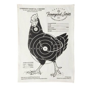 SUCK UK Tea Towel Chicken