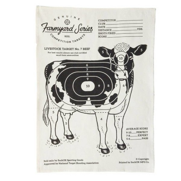 SUCK UK Tea Towel Cow