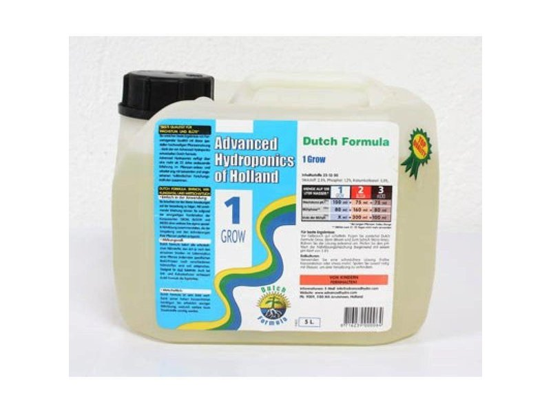 Advanced Hydroponics Dutch Formula Grow Flüssigdünger, ab 1 L