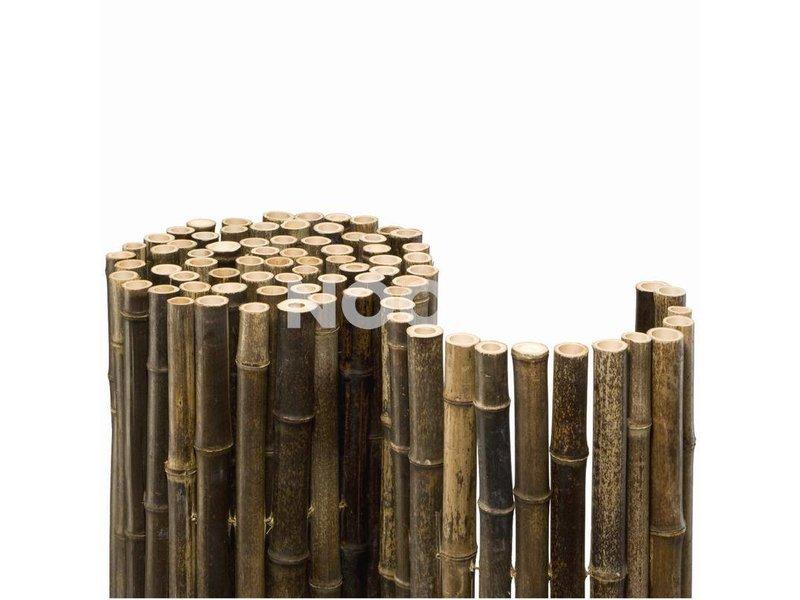 Noor Bambusmatte Black Sichtschutz verschiedene Größen Ø 24 mm