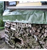 Noor Holz-Gewebeabdeckplane, 210 g/m², ca. 1,50 x 12 m, grün