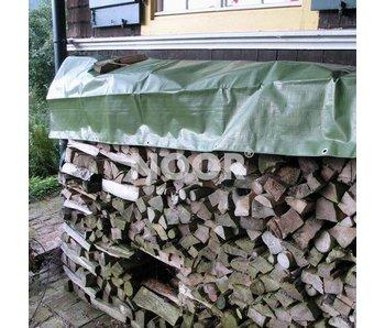 Noor Holz-Gewebeabdeckplane, 210 g/m²