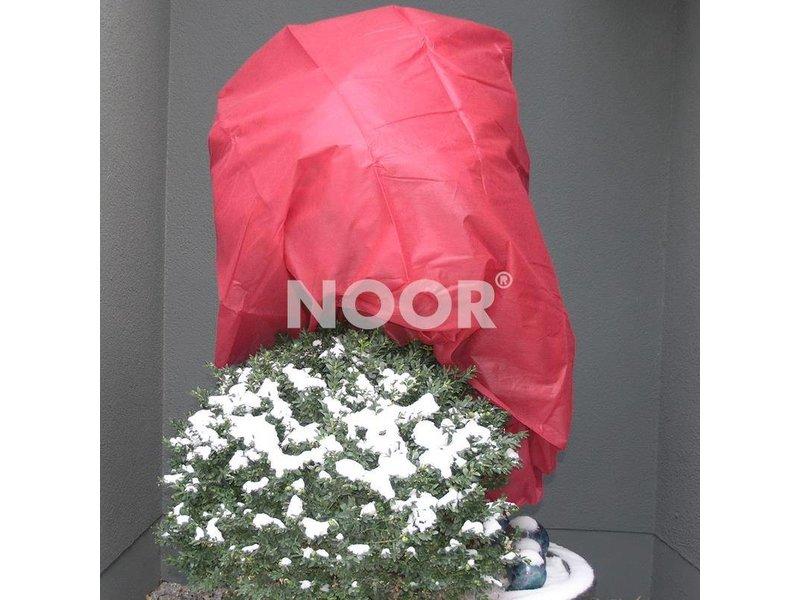 Noor Wintervlies, 34 g/m² 1,6 x 5 m, rot
