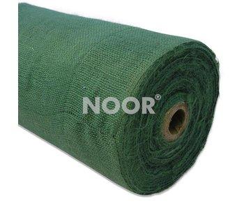 Noor Jutegewebe Meterware, grün