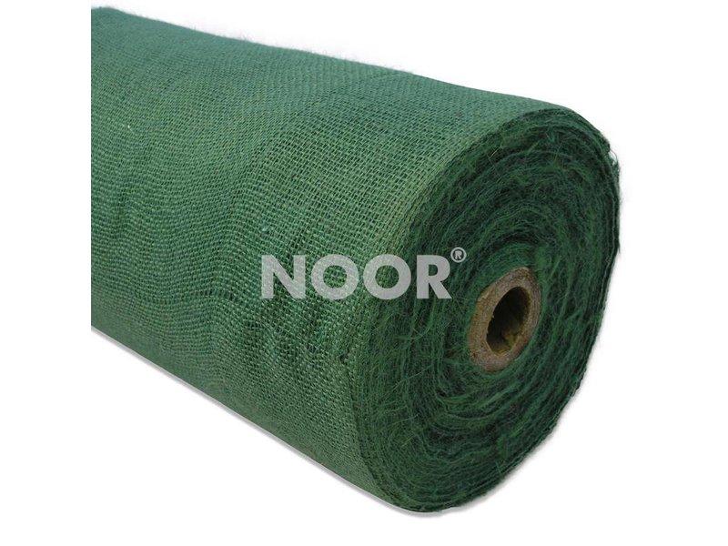 Noor Jutegewebe, Meterware, grün, H 215/1 x 100 m