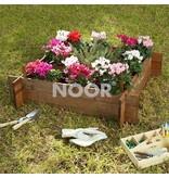 Noor Hochbeet L Minigemüsegarten, 100 x 100 x 22 cm