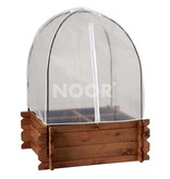 Noor Frühbeethaube & Vogelschutznetz für Hochbeet S