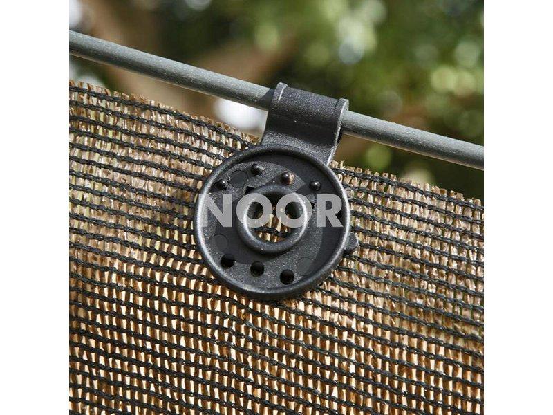 Noor Clip Ösen für Schattiergewebe, 10 Stück