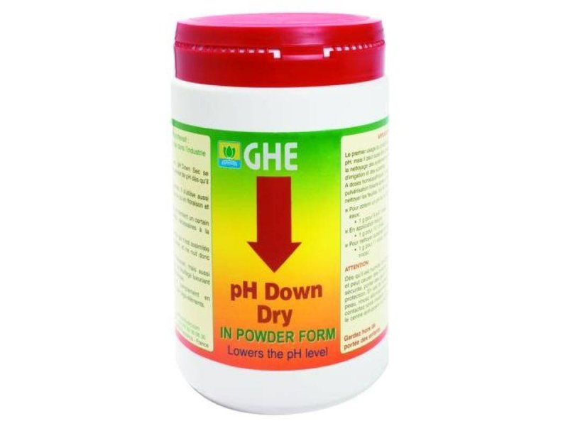 GHE pH Down Pulver, ab 25 g