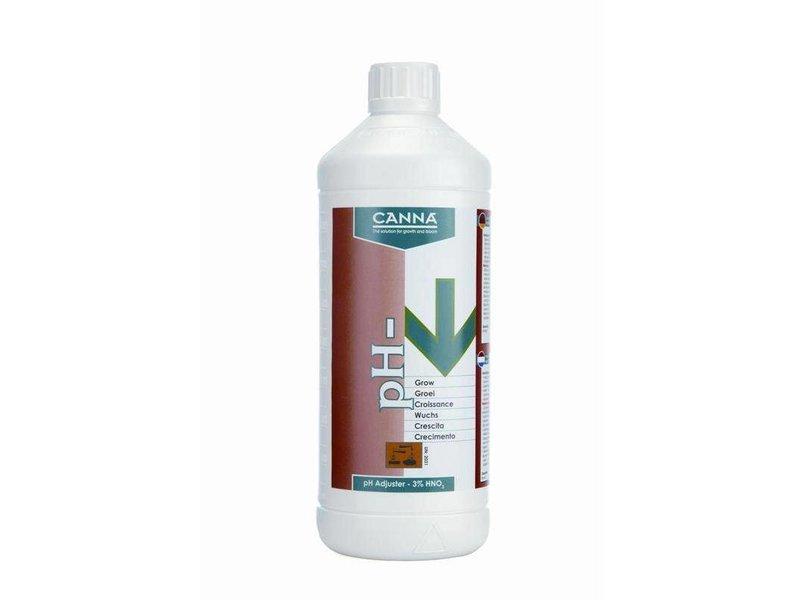 Canna pH Minus Wuchs Pro 38 % HNO, 1 L