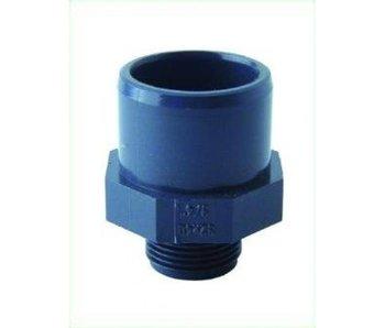 PVC Anschlußverschraubung 3/4 Zoll, 32