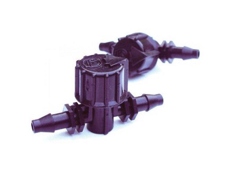 AutoPot Absperrhahn, 6 mm, Steckverbinder