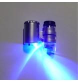 GiB LED Taschenmikroskop, 60-fache Vergrößerung