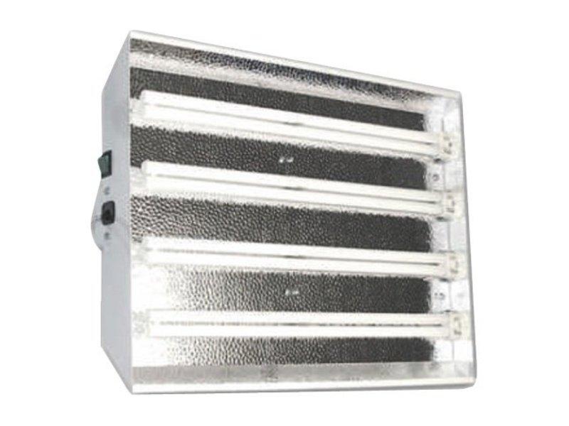 Starlight Reflector, Stecklingsarmatur für 4 x 55 W Leuchtmittel, inkl. 2 x 55 W Philips PI865