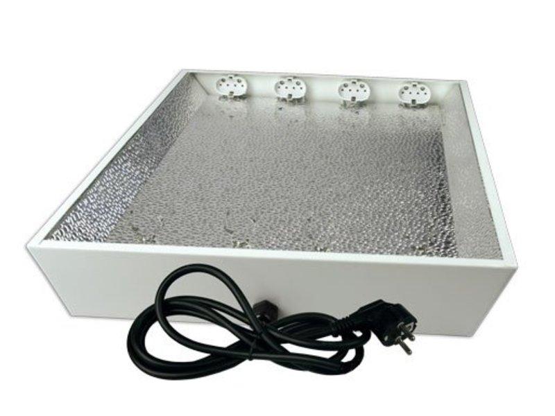 Elektrox Stecklingsarmatur für 4 x 55 W, ohne Leuchtmittel
