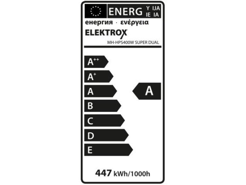Elektrox Super Dual MH+HPS Lampe, 400 W