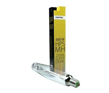 Elektrox Super Dual MH+HPS Lampe, 600 W